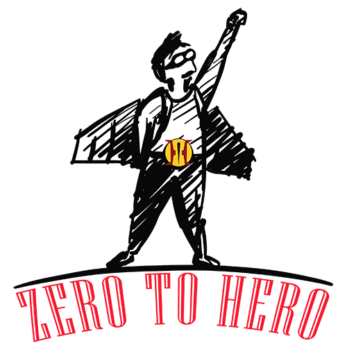 zero to hero how to be successful logo